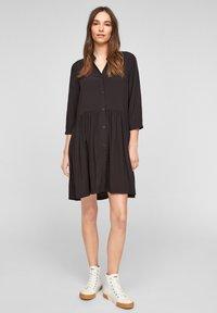 Q/S designed by - Shirt dress - black - 3