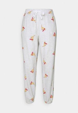 Pyjama bottoms - grey snow
