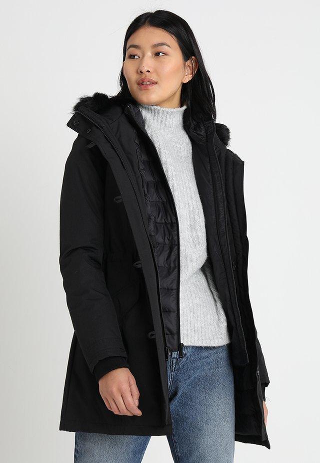 ADIRONDACK - Kabát zprachového peří - black
