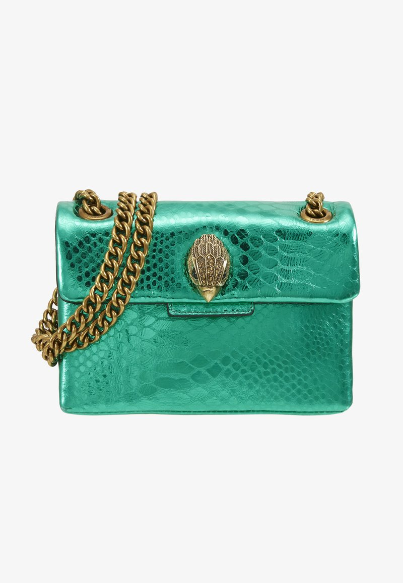 Kurt Geiger London - MINI KENSINGTON X BAG - Across body bag - mid green