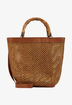 JERENER - Handbag - haselnuss