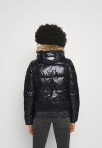 Superdry - HIGH SHINE TOYA  - Winter jacket - black - 2
