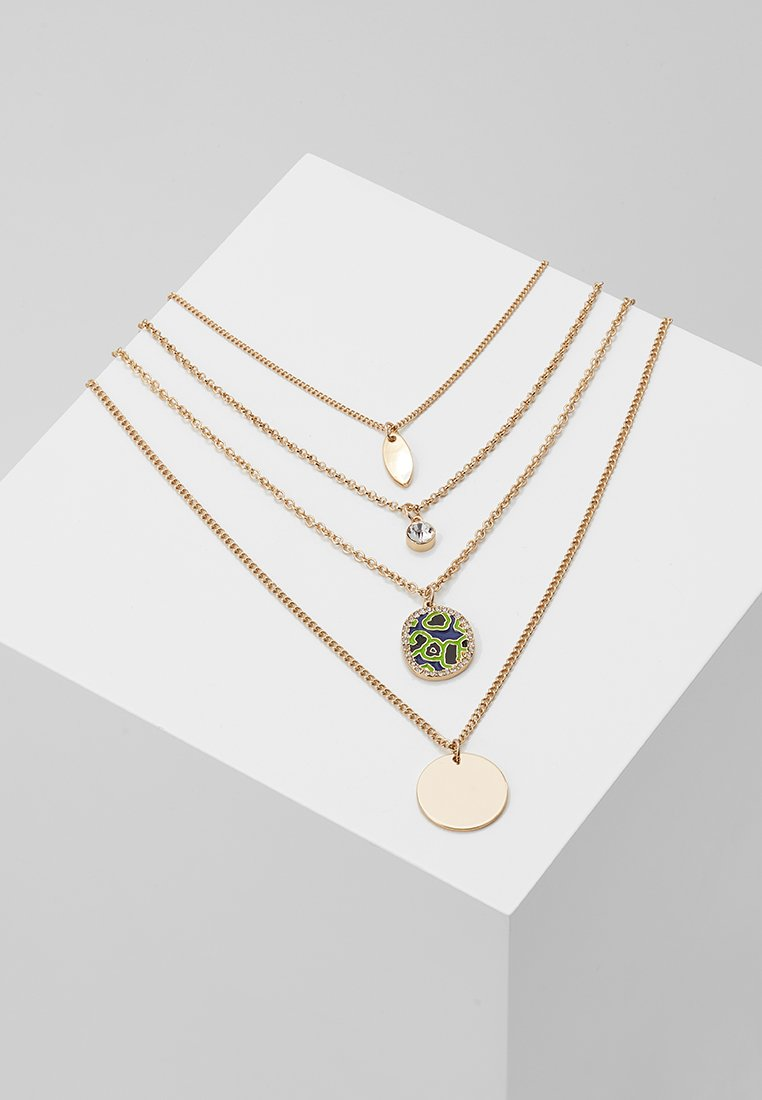 LIARS & LOVERS - MULTI LAYER DISC 4 PACK - Necklace - gold-coloured