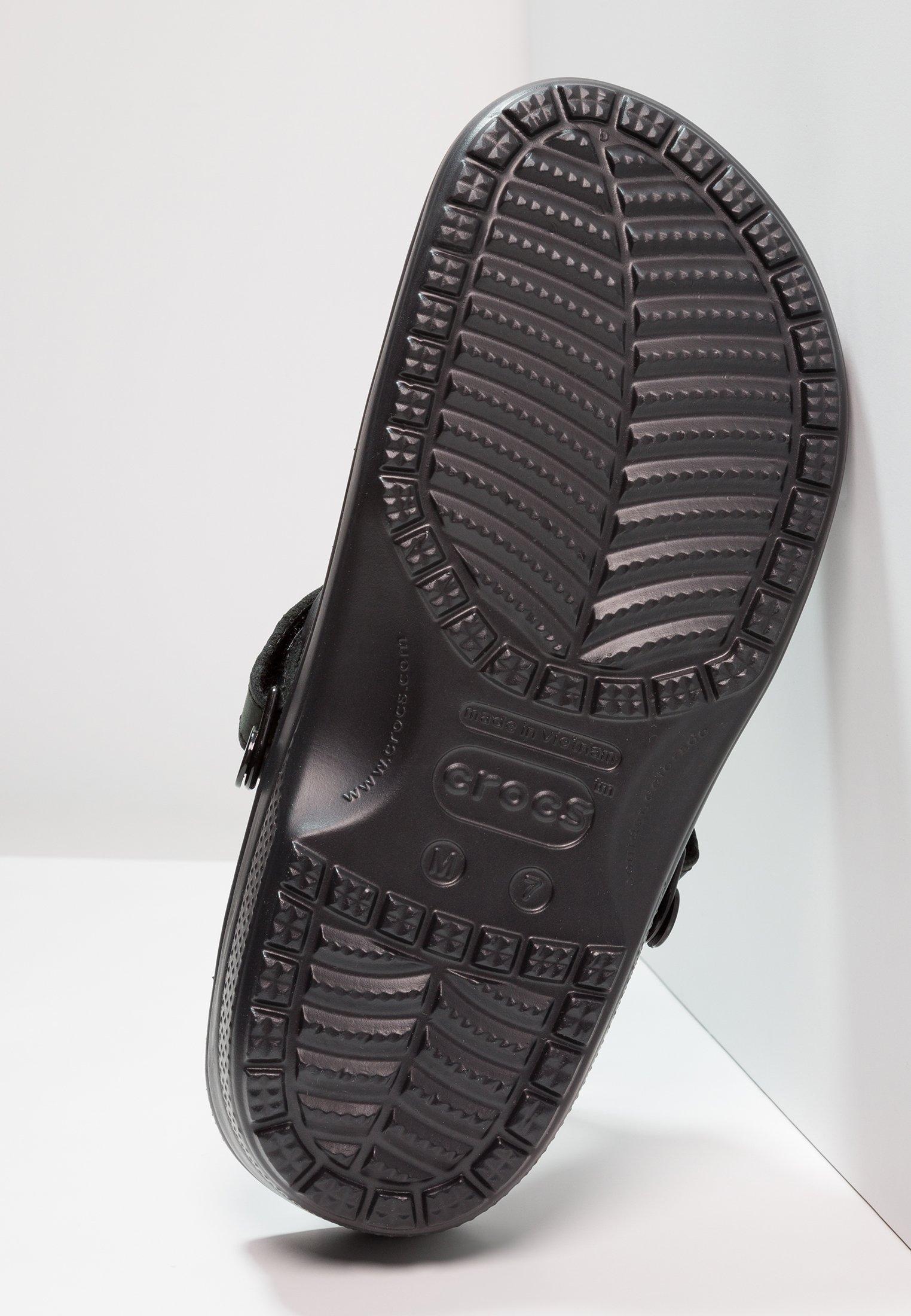 Crocs YUKON VISTA - Badsandaler - black/svart - Herrskor DUHWb