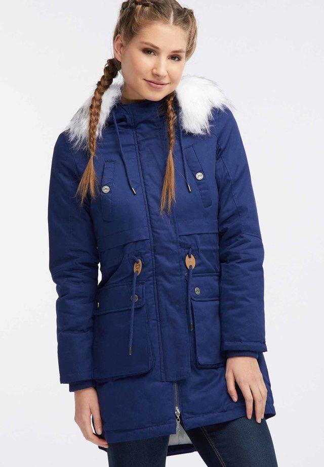 Abrigo de invierno - dark blue
