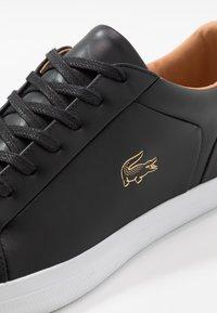 Lacoste - LEROND - Sneakers - black/white - 5