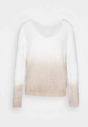 VIFENOMA  - Jumper - simply taupe/whisper white