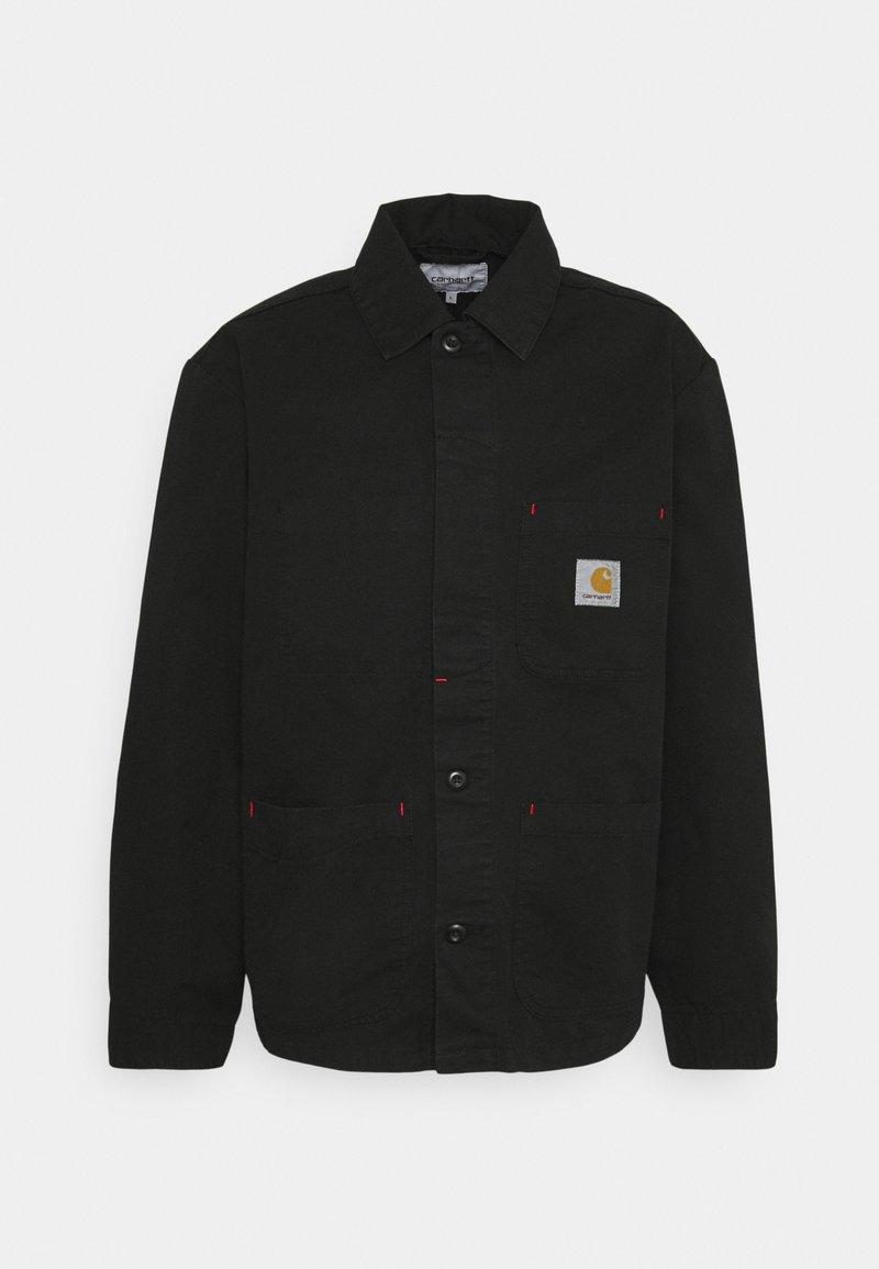 Carhartt WIP - WESLEY JACKET NEWCOMB - Korte jassen - black