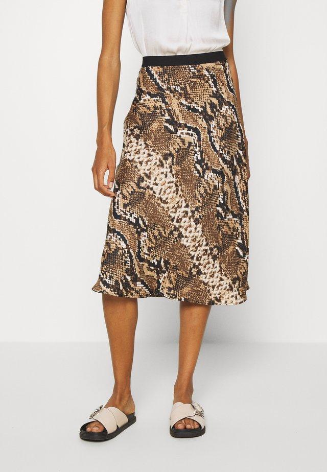 RAJA  - Falda de tubo - creamy camel