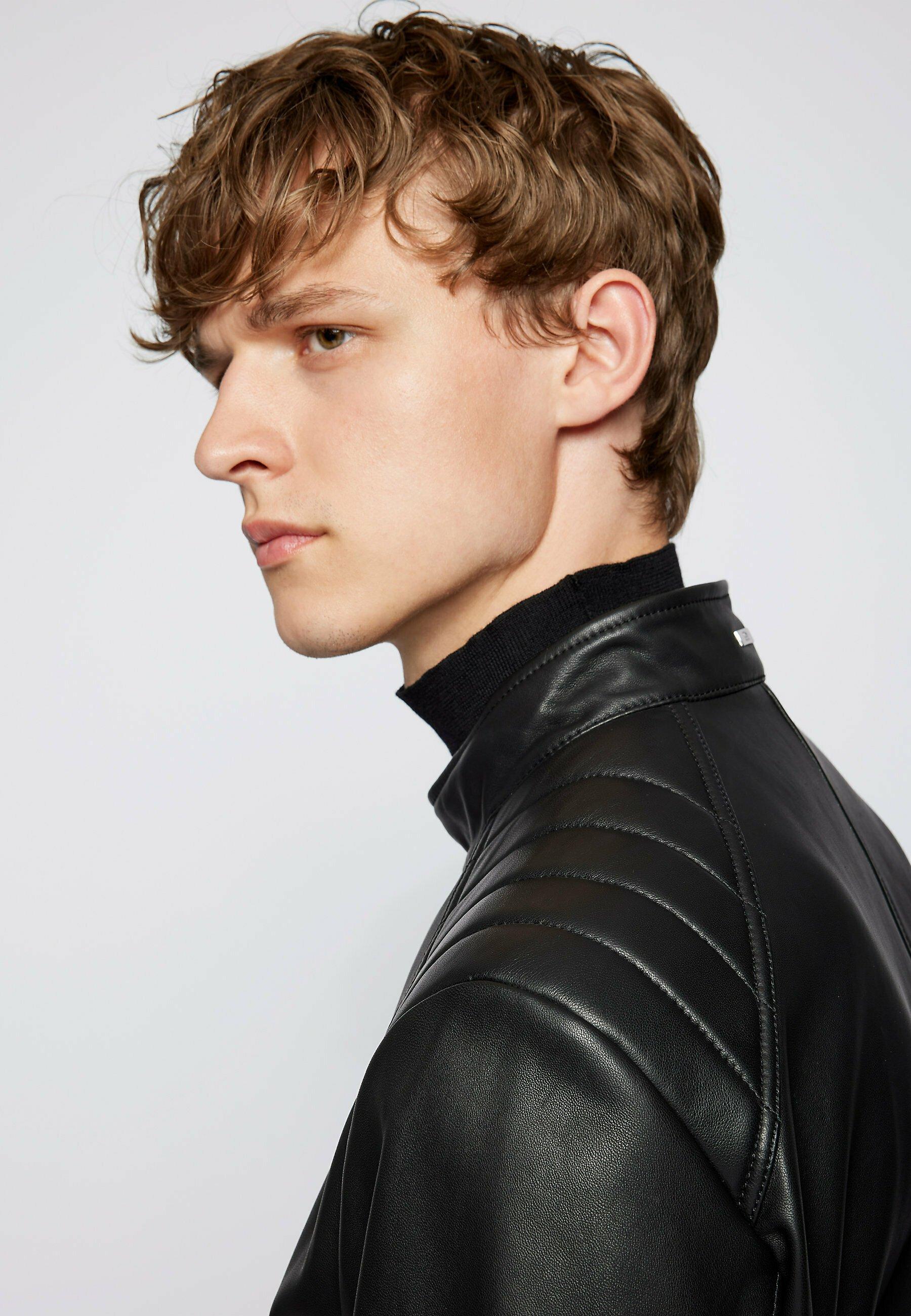 Men GELAN - Leather jacket