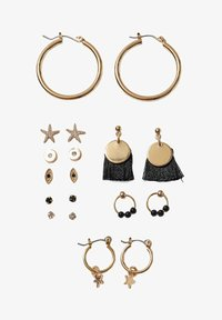 Stradivarius - Earrings - black - 2