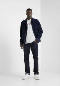 PS Paul Smith - MENS SLIM FIT ZEBRA REPEAT - Print T-shirt - light blue - 1