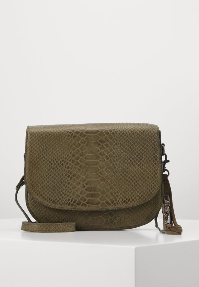 BRACCIANO - Across body bag - olive