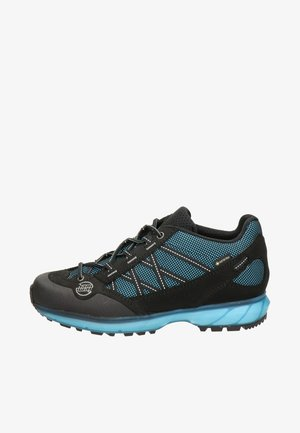 Hiking shoes - black, light blue