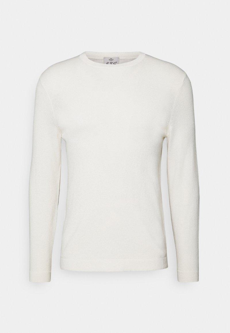 FTC Cashmere - Stickad tröja - off-white