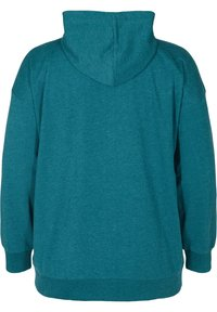 Zizzi - Zip-up hoodie - green - 4