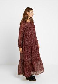 Vero Moda - VMROBERTA ANCLE DRESS - Maxi dress - port royale/brick dust - 2