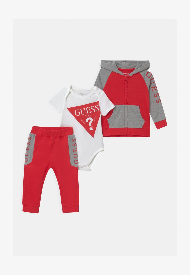 Guess - BABY SET UNISEX - Tuta - red