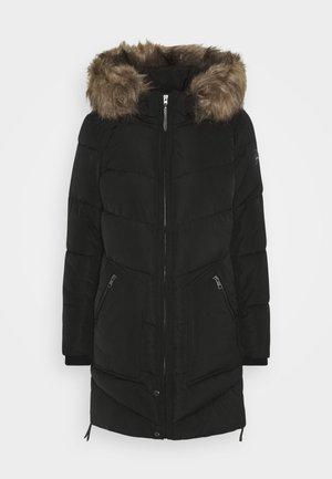ONLROONA QUILTED COAT - Veste d'hiver - black