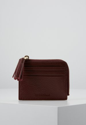 TASSEL CARD HOLDER - Wallet - marsala