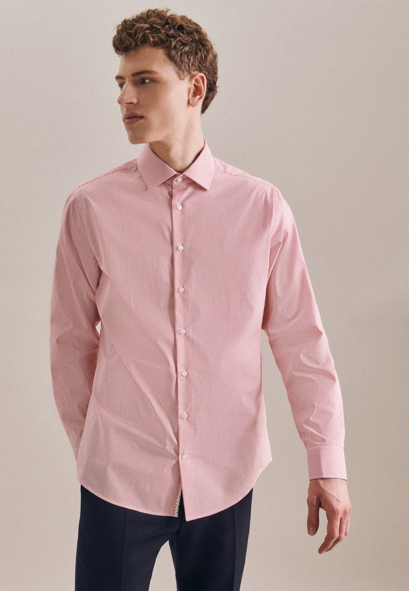 Seidensticker - BUSINESS SLIM - Shirt - rot