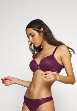 INVISIBLES LIGHTLY LINED - Underwired bra - raisin torte