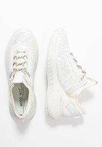 ECCO - ST.1 LITE - Sneakersy niskie - white - 4