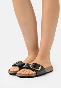 Birkenstock - MADRID BIG BUCKLE - Mules - black - 0