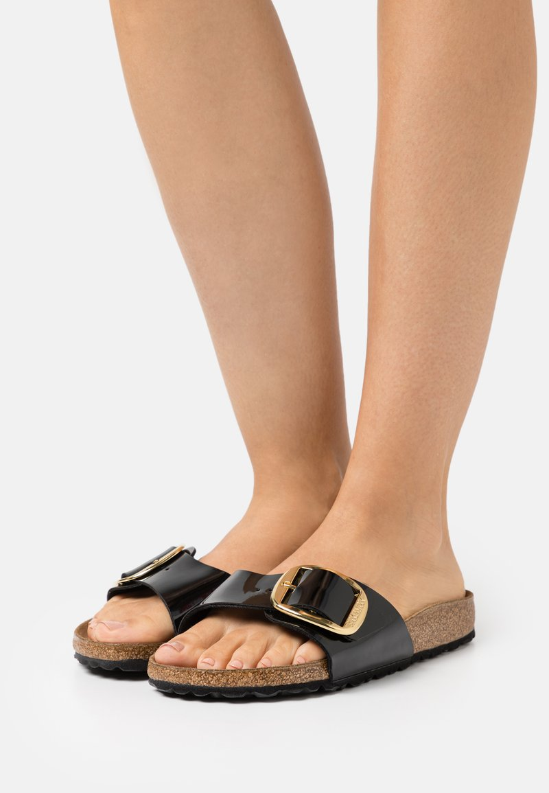Birkenstock - MADRID BIG BUCKLE - Mules - black