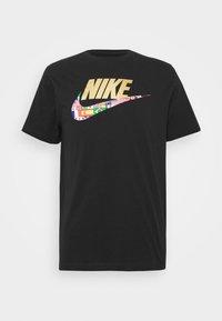 Nike Sportswear - TEE PREHEAT  - Triko spotiskem - black - 4
