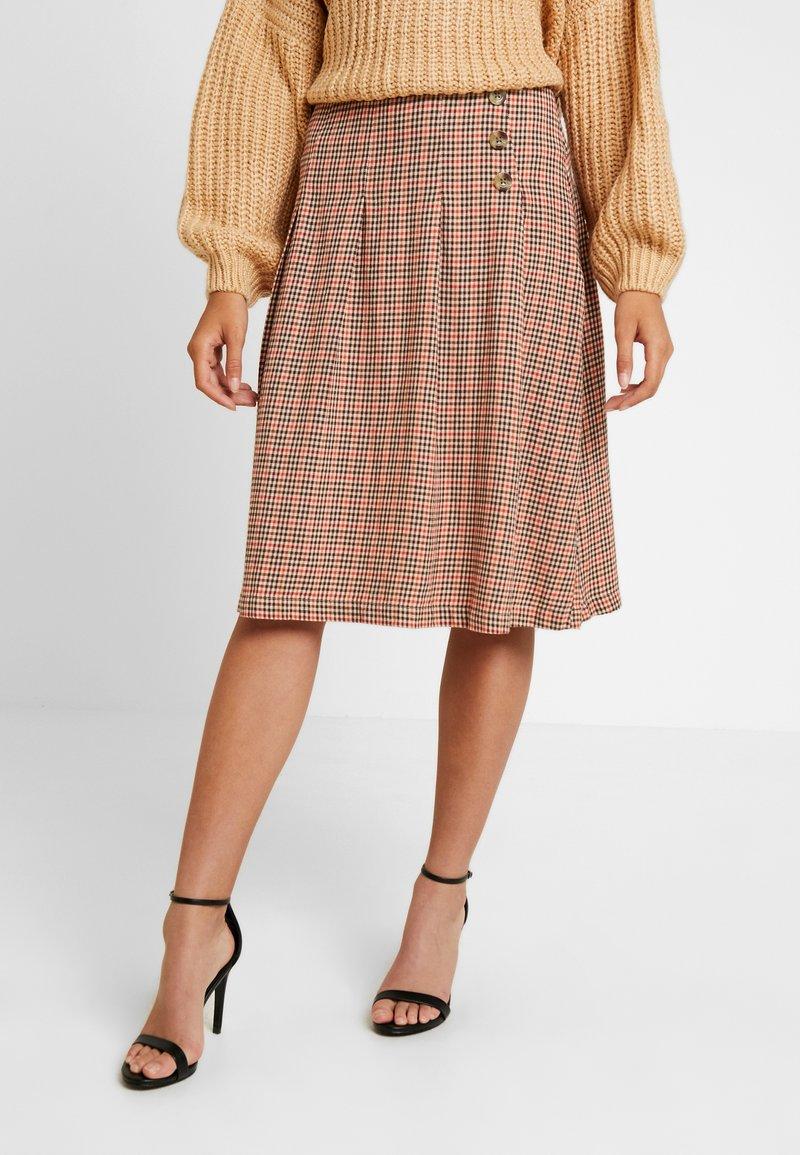 Blendshe - TAMMY - A-line skirt - orange