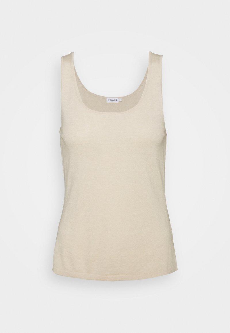 Filippa K - LISA - Top - soft beige