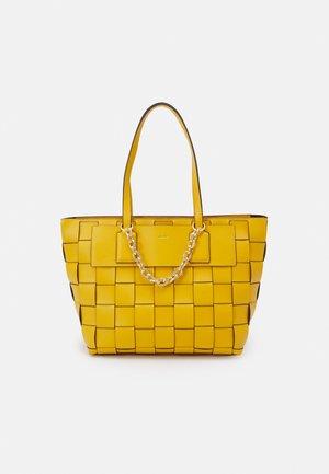 ALHENA - Shoppingveske - mango mojito/gold-coloured