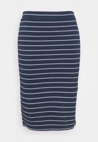 Tommy Jeans Curve - BODYCON STRIPES SKIRT - Pencil skirt - twilight navy/multi - 3