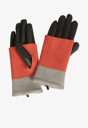 Gloves - rot/grau