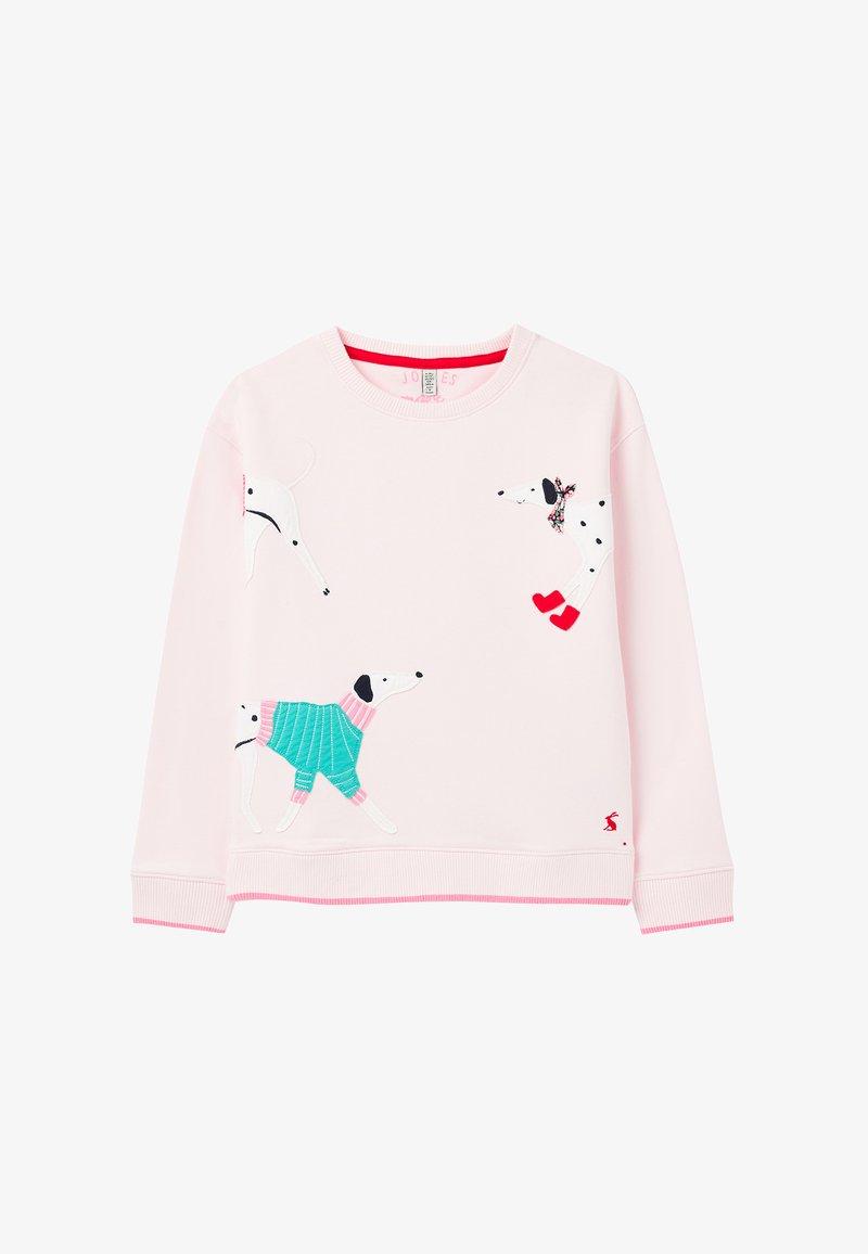 Tom Joule - TIANA - Sweatshirts - rosa dalmatiner
