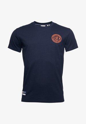EXPEDITION  - T-shirt med print - deep navy