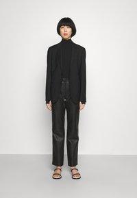 HUGO - NINELLI - Long sleeved top - black - 1