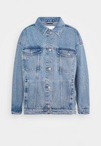 CATHY JACKET - Denim jacket - blue dusty light