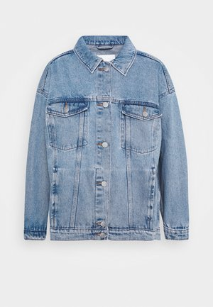 CATHY JACKET - Denim jacket - blue dusty light