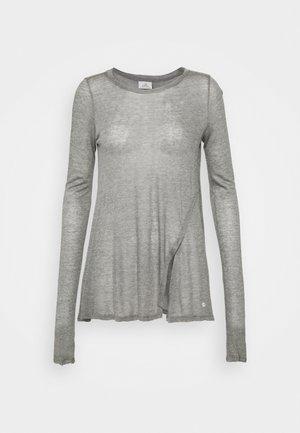 YOGA - Long sleeved top - silver gray