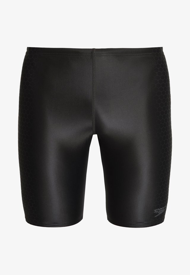 PLACEMENT JAMMER - Swimming trunks - black/oxid grey