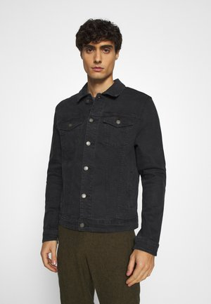 TRUCKER - Denim jacket - black