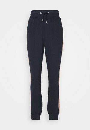 ONLASHLEY PANTS - Pantalones deportivos - night sky blue/rose/ moonbeam