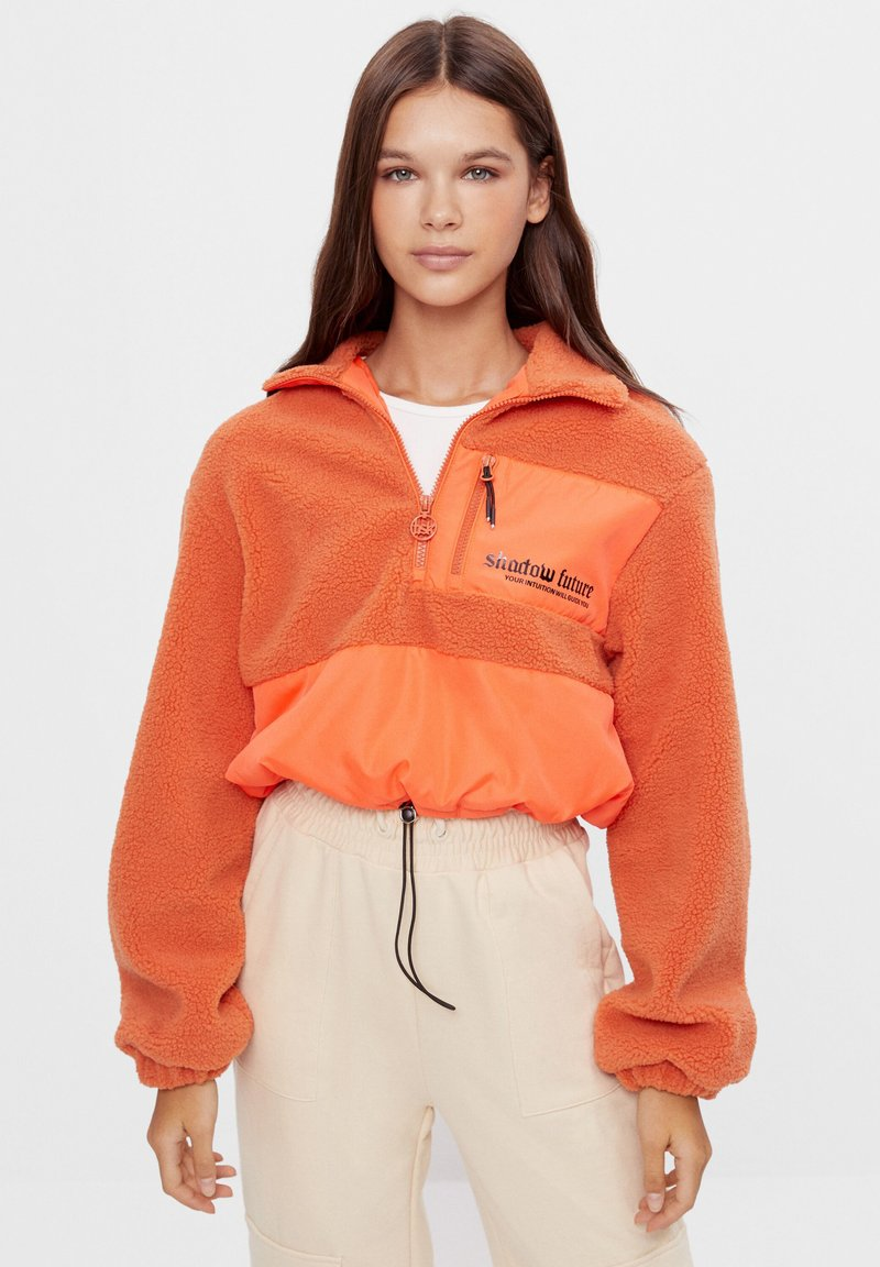 Bershka - Winter jacket - orange
