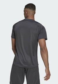 adidas Performance - HB TRAIN T M - Print T-shirt - grey - 1