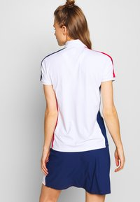 Colmar - ZONE - Polo shirt - white/prussian blue/bright red - 2