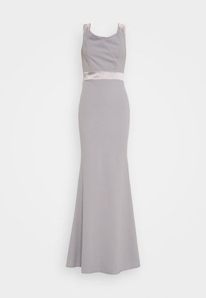 BAND DRESS - Galajurk - pearl grey