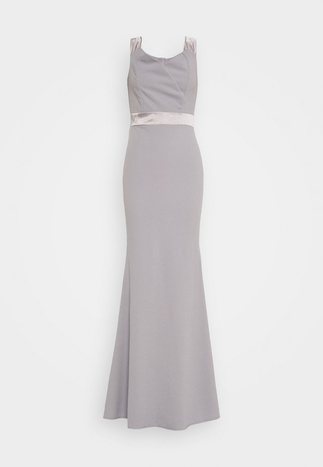 BAND DRESS - Robe de cocktail - pearl grey