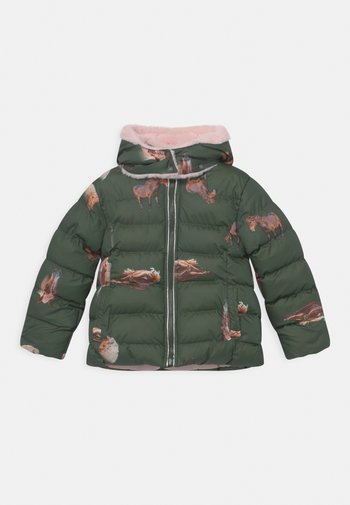 Winter jacket - thyme